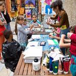 """""""Viens peindre avec nous"""" - l'atelier peinture pour les enfants au Quatre Coins"""