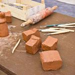 Atelier travail de l'argile