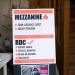 MEZZANINE - Jean-Jacques Ligot - Jacky Mougin