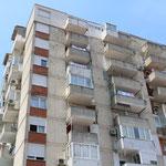 Overal in Mostar zie je nog kogelinslagen in de gebouwen