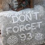 Gedenksteen bij Stari Most