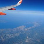 Zelfs vanuit de lucht is Kroatië al mooi!