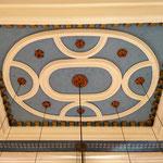 Het plafond in de synagoge
