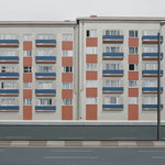 'Army Barracks' 160 x 200 cm oil on canvas, 2006.