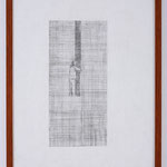 'Woodpecker' 35x45cm (with custom frame) pencil on cartridge paper, 2006