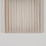 'Kit' pleated paper and stretchers 30x30cm, 2006