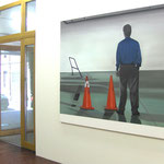 'It Takes Two' opens in Fabian&Claude Walter Galerie (in view 'Timing' 165x200cm), 2007