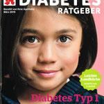 Titelseite Diabetes Ratgeber März 2019