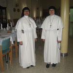 Hna. Graciela y Madre María Luisa