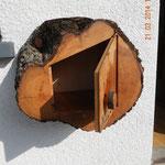 Briefkasten aus Birnbaum