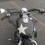 Motorrad wurde so angeliefert