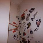 Raumnische im Deckenbereich