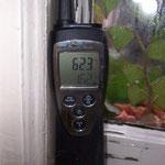 Mikroklima im Fensterzwischenraum