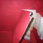 Feuchteschaden um den Schornsteinschacht