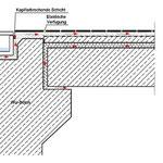 Skizze des Wassertransports an der vorgefundenen Beckenkopfkonstruktion