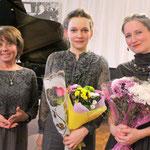 with Irina Stolbova, the Director of Borovichi Museum