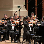 with OSUSP orchestra (performance of Rachmaninov 2nd Concerto in Sala Sao Paulo)
