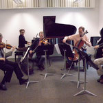 Rehearsal with RTE Vanbrugh Quartet, Cork (Ireland)