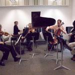 Rehearsal with RTE Vanbrugh Quartet, Cork (Ireland). Photo by Eddie Weij