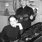 Olga Solovieva and Sergey Kostylev, Alexandrov city (2007). Photo by Galina Kiprenko