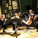 Olga Solovieva with RTE Vanbrugh Quartet in Kremlin (Armory Chamber)