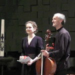 with cellist Roel Dieltiens