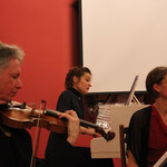during the performance in Arkhipovsky Hall, 2013 (with Gregory Ellis and Ioana Petcu-Colan)