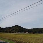 近隣の田園風景