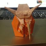高☆梵作 Origami Jedi Master Yoda (Fumiaki Kawahata)
