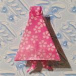 傘化けバッジ_桜たくさんピンク