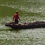 Ein Fischer bei der Arbeit