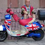 Rollern mit Stil in Beijing