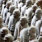 Weltberühmt: die Terrakotta-Armee