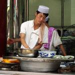 Garküche im islamischen Viertel