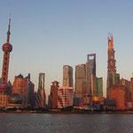 Bekannt: Skyline von Pudong/Shanghai
