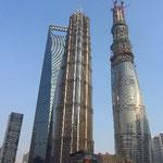 Bauwerke, die gen Himmel streben