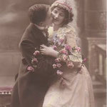 photo rétro mariage source internet