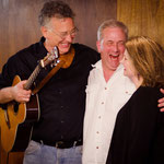 Leslie with Seth Connelly and Tom Irving (photo by Steve Ide)