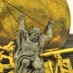 Ein Detail vom Josefsplatz
