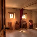Carnuntum Petronell: Wohnraum im Färberhaus