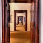 Ausstellungsräume im ersten Geschoß