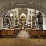 Blick in die Stiftskirche