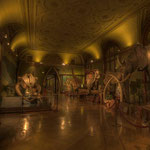 Der »Elefantensaal« in der mineralogisch-petrographische Sammlung