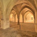 Dieser Raum diente im Mittelalter den Fratres, also den Brüdern, als Arbeitsraum.