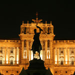 """1920 ging aus der Hofbibliothek des Habsburgischen Kaiserreiches die """"Nationalbibliothek"""" hervor. Diesen Namen trug sie bis 1945, erst dann erfolgte die Umbenennung in """"Österreichische Nationalbibliothek""""."""