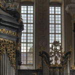 Detail der Hradetzky-Orgel in der Stiftskirche