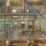 Ein Modell der Wiener Molkereien dokumentiert den gesamten Produktionsablauf