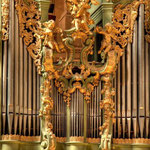 Detail der Johann Hencke-Orgel