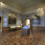 Das »Kaiserliche Schlafzimmer«, der nächste Raum heißt »Kleine Galerie«