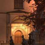 Eingang zur Hofkirche